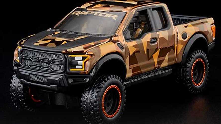 Ford F-150 Raptor, in arrivo un modellino speciale di Hot Wheels