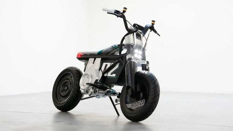 Moto elétrica da BMW com proposta urbana ganha prévia; veja fotos