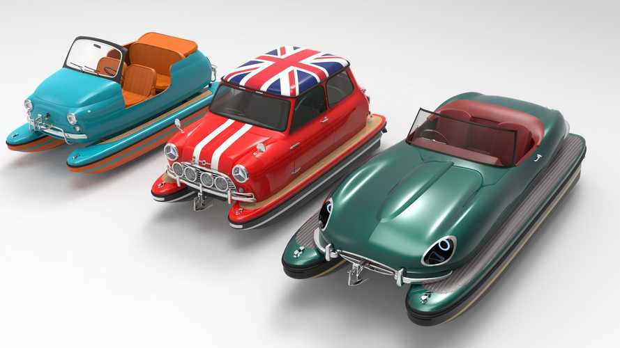 Floating Motors reimagines boating with recreated car designs