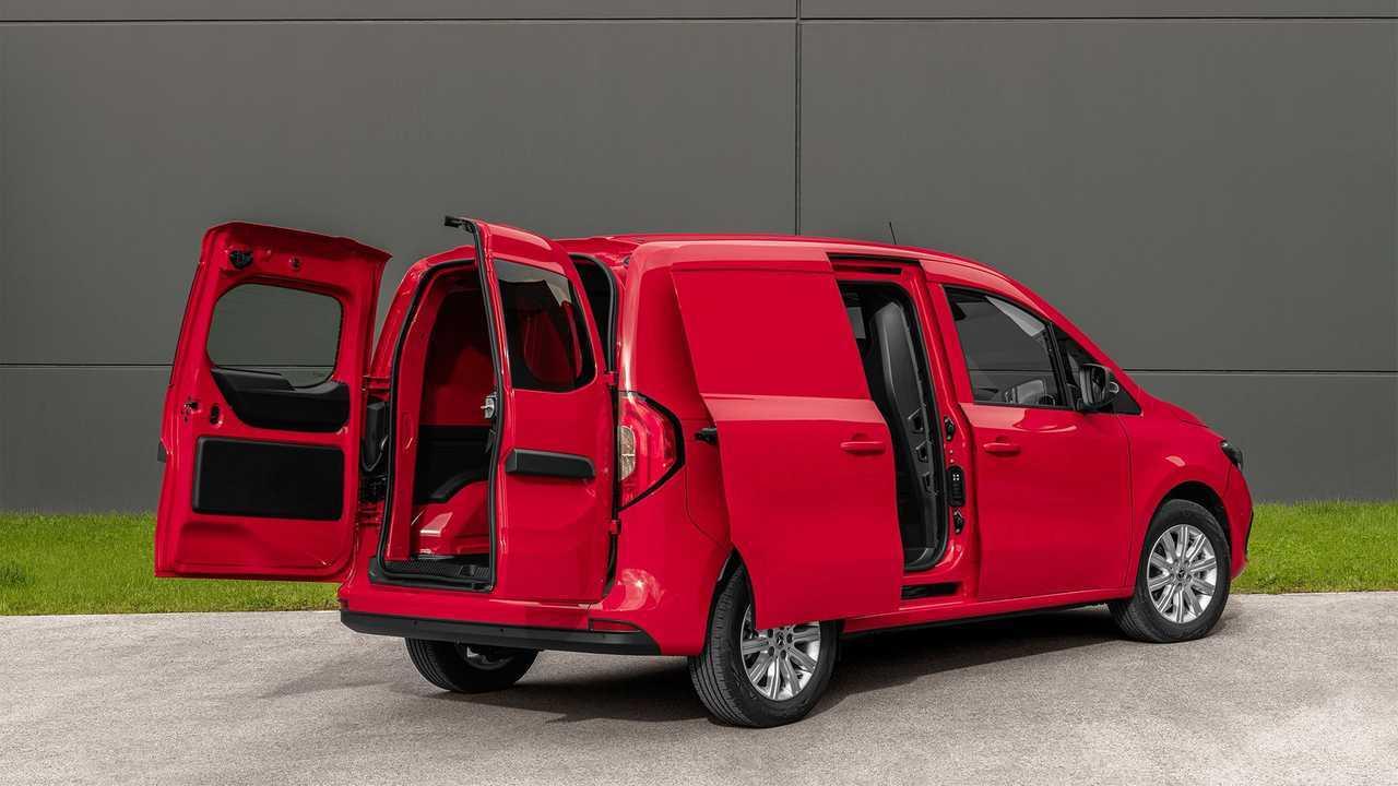Mercedes-Benz Citan cargo space