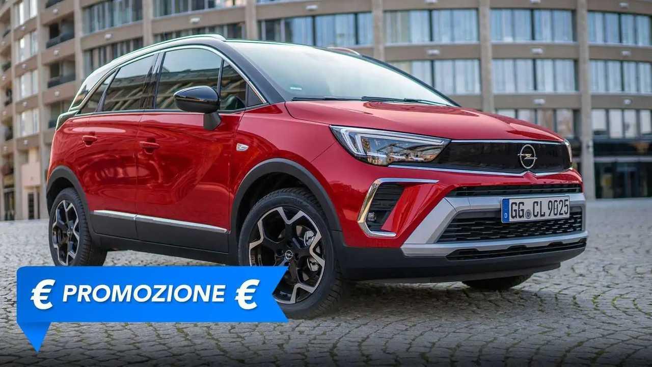 Promozione Opel Crossland