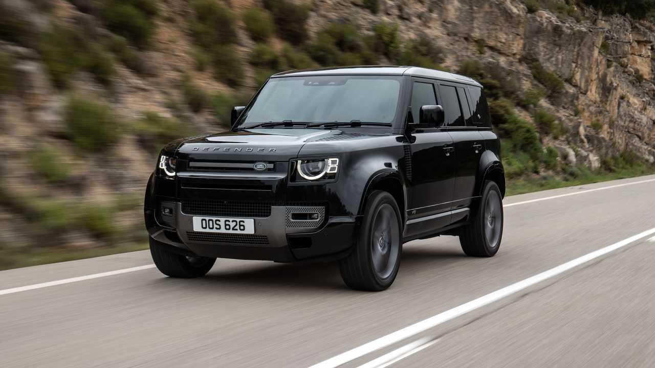 Presentación del Land Rover Defender con motor V8
