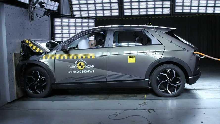 Hyundai Ioniq 5'de Euro NCAP testini başarıyla tamamladı