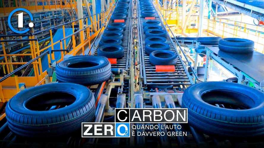 Con l'energia pulita anche i pneumatici diventano più green