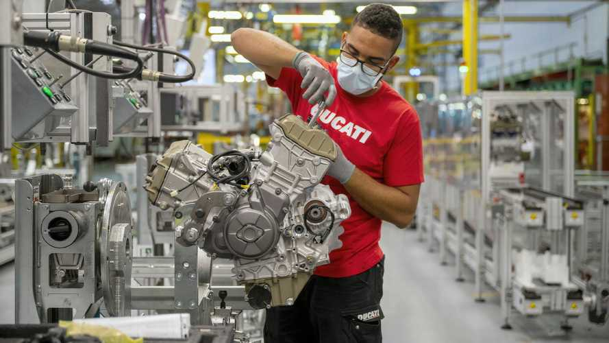 Ducati Factory Is Opening Back Up For Public Tours In October 2021