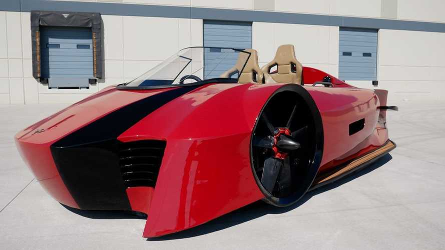 High-End Hovercraft Shows Off Supercar Looks, Hybrid Powertrain