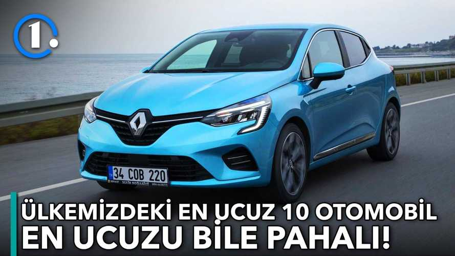 Türkiye'nin en ucuz 10 otomobili | Bilgin Olsun