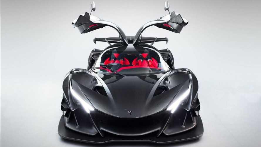 El espectacular sonido del motor Ferrari que realza al Apollo IE