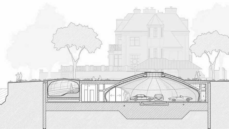 L'incredibile garage sotterraneo progettato da UNISM
