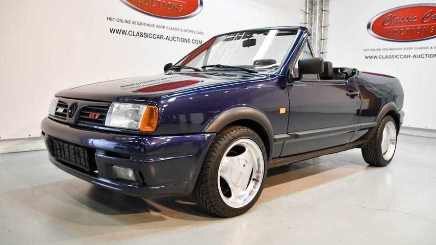 Üzeri açık 1993 Volkswagen Polo'yu daha önceden görmüş müydünüz?