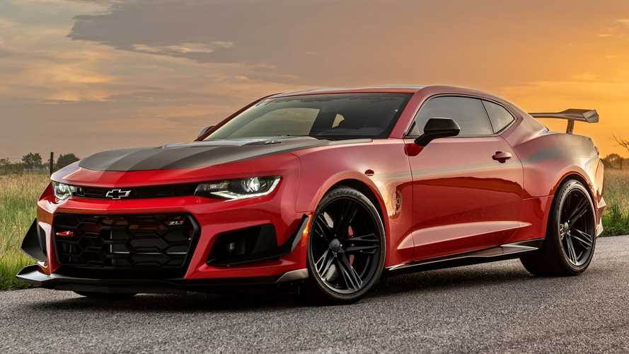 Hennessey Celebrates 30 Years With Special Exorcist Camaro ZL1