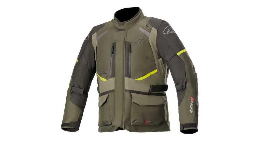 Alpinestars Presents Its Andes V3 Drystar Adventure Jacket