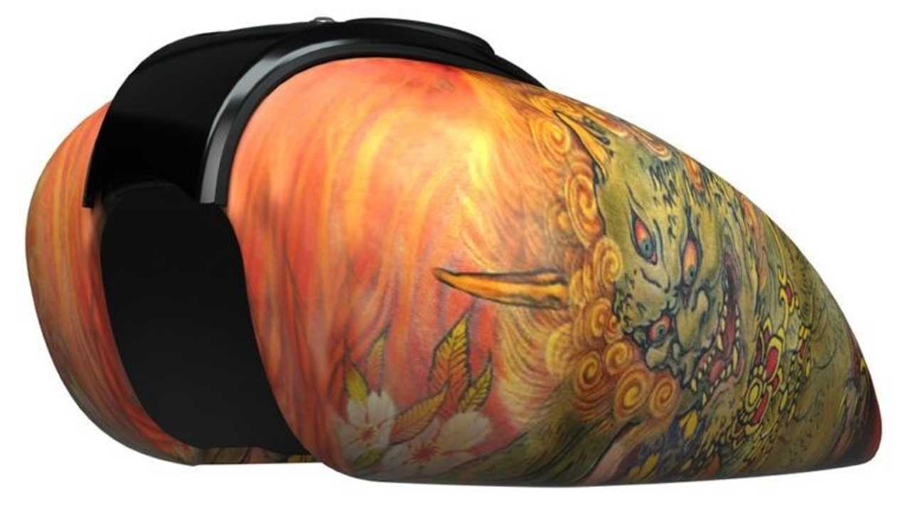 Indian Motorcycle X No Regrets Series - Shige (Tank)