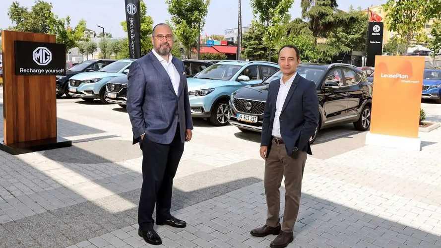 LeasePlan Türkiye ve MG'den elektrikli dönüşüm
