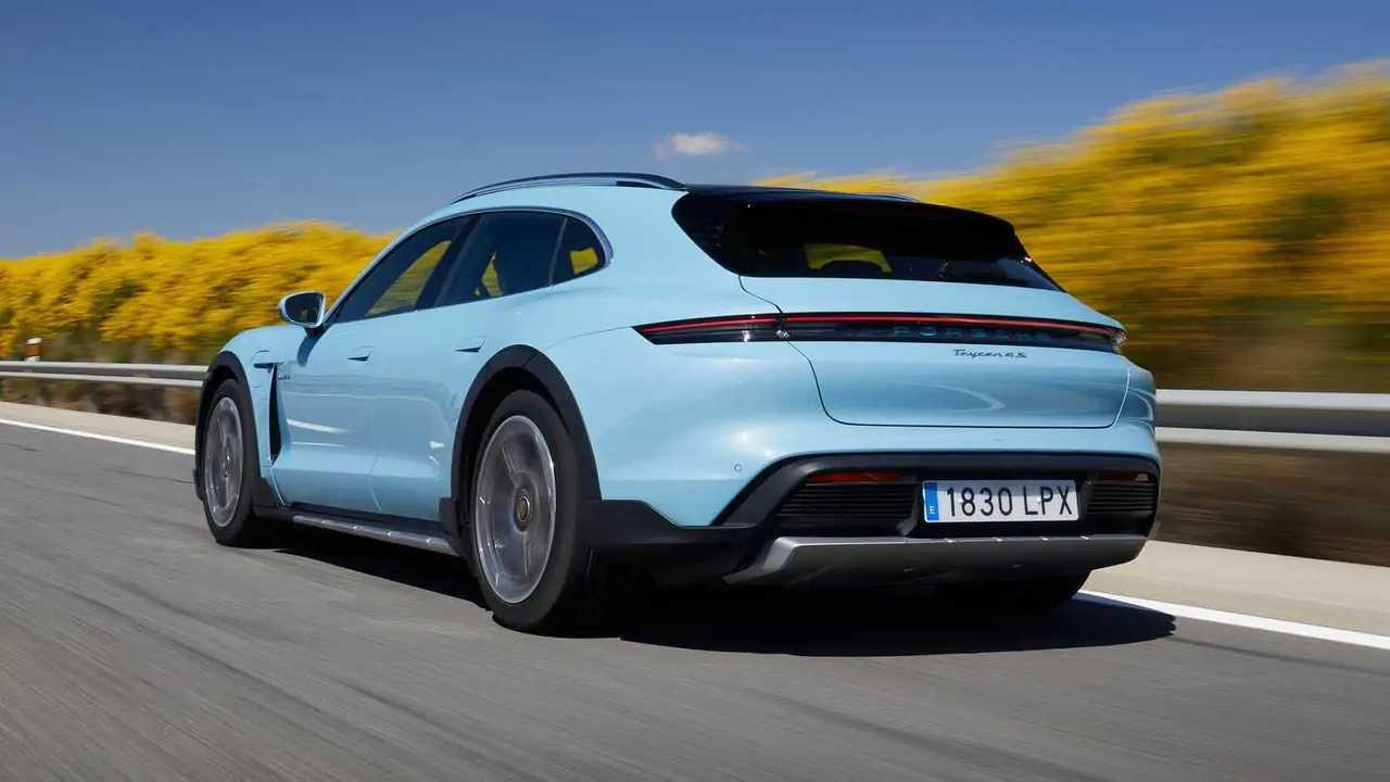 Prueba Porsche Taycan Cross Turismo 2021