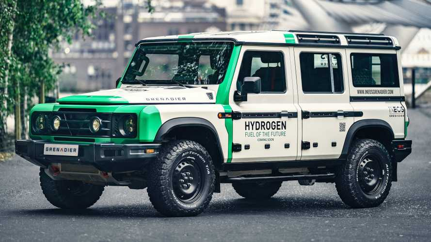 Ineos To Test Hydrogen Fuel Cells On Grenadier Off-Roader From 2022
