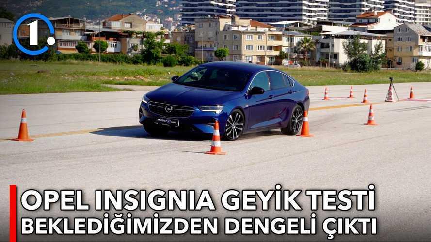 2021 Opel Insignia 1.5 D | Geyik Testi