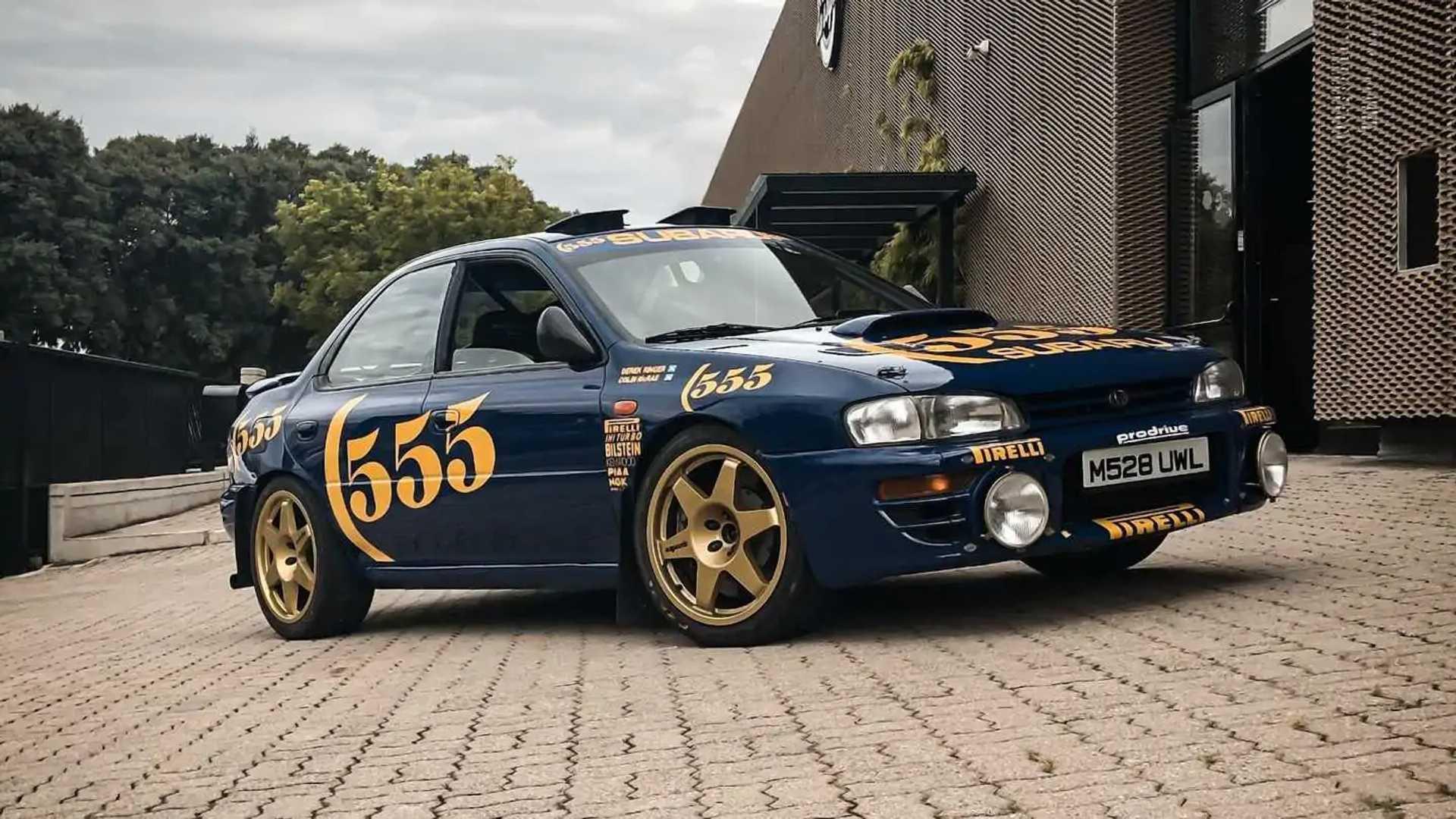 Une Subaru Impreza pilotée par Colin McRae est à vendre