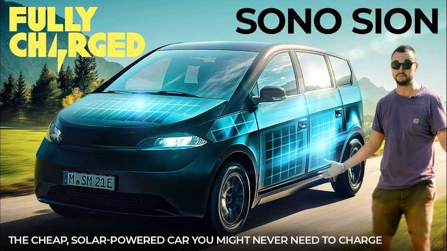 Fully Charged Checks Out The Sono Solar Car And Loves It