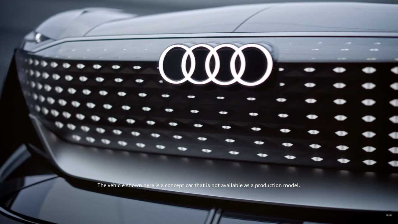 Griglia teaser Audi Skysphere Concept