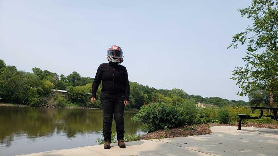 Gear Review: Rokker Black Jacket Lady Short