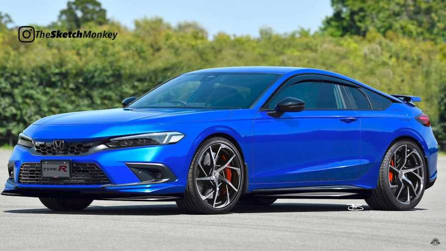 2022 Acura Integra Type R Rendered Imagining Revival Of FWD Icon