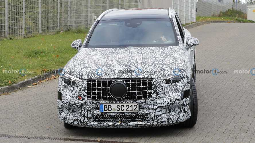 2023 Mercedes-AMG GLC 63 new spy photos