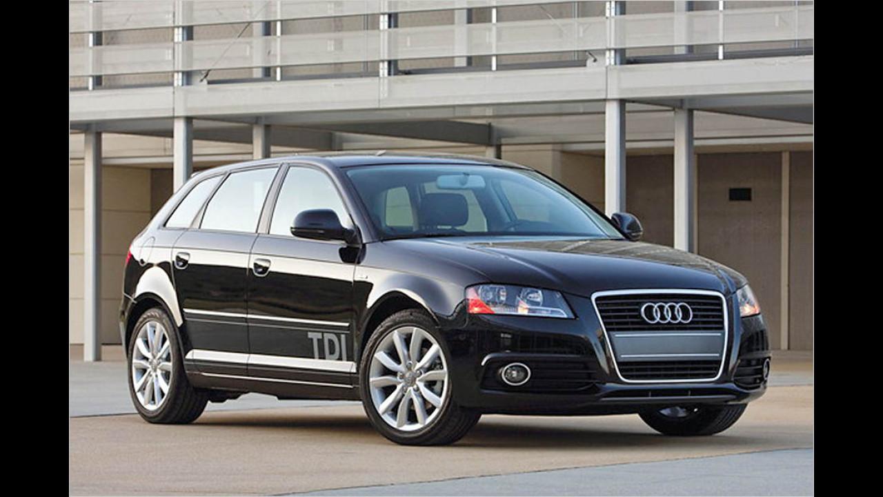 2010: Audi A3 TDI Clean Diesel (zurückgezogen)