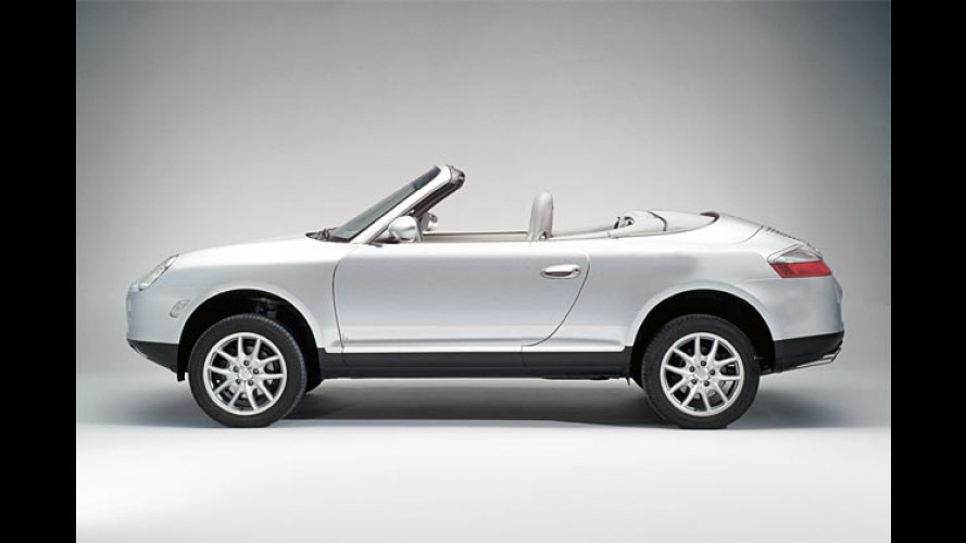 Nur ein Aprilscherz: Cayenne Cabrio kommt Anfang 2005