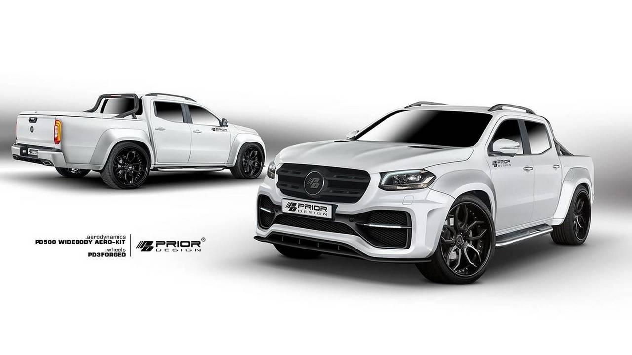 Mercedes X Serisi Prior Design Modifiyesi
