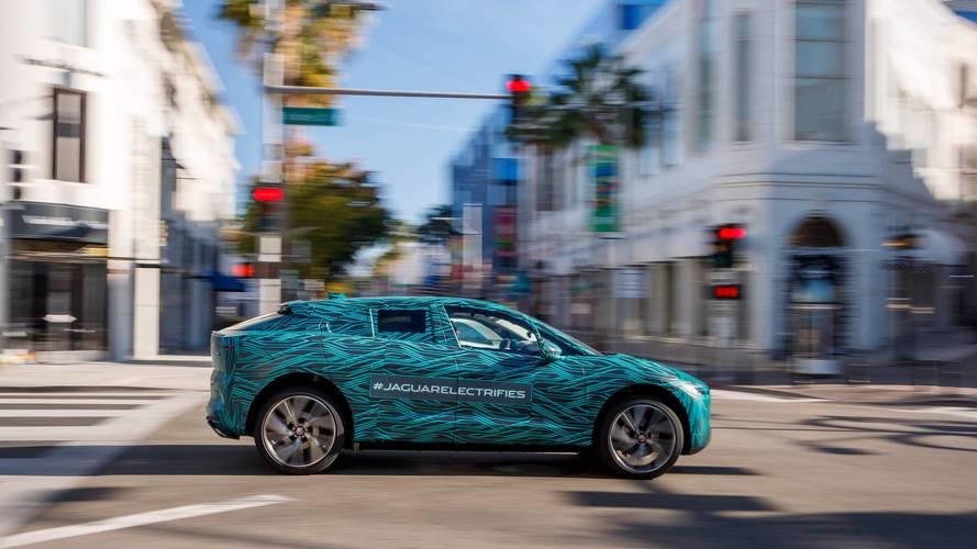 El Jaguar I-PACE 2018 disfruta del sol de Los Ángeles