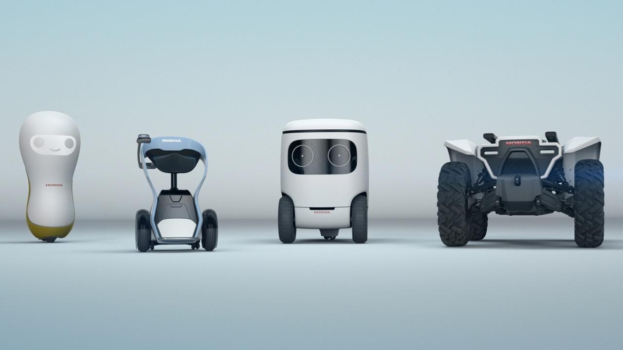 [Copertina] - Honda, al CES 2018 debuttano nuovi robot intelligenti