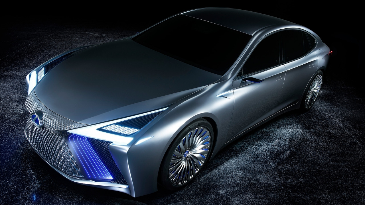 [Copertina] - Lexus LS+ Concept, a guida autonoma (in autostrada) fra 3 anni