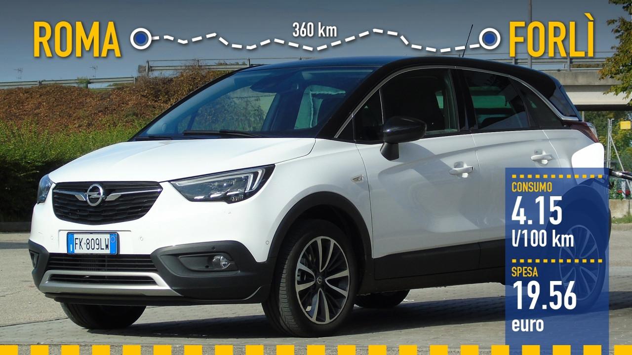[Copertina] - Opel Crossland X, la prova dei consumi reali