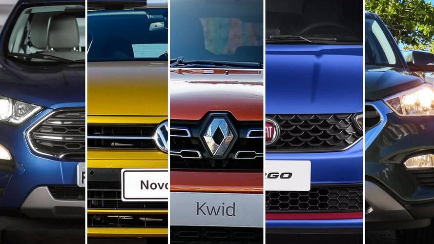 Retrospectiva - Carros lançados em 2017 e suas vendas