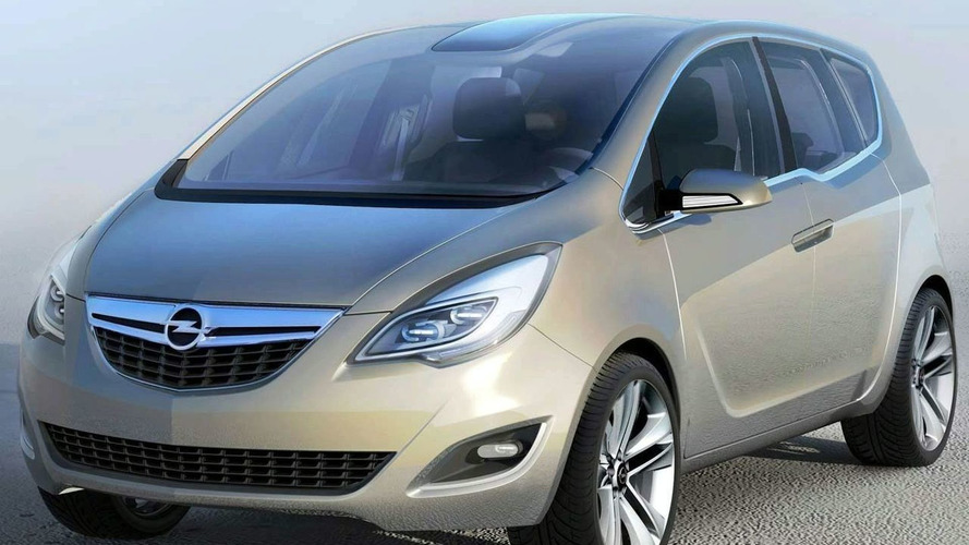Opel Meriva Concept Pictures Leaked