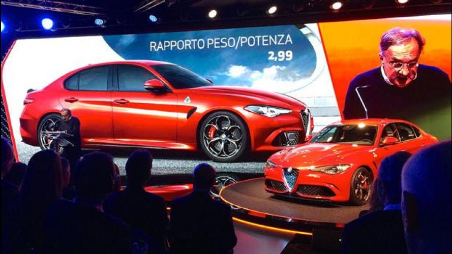 Alfa Giulia, Marchionne: