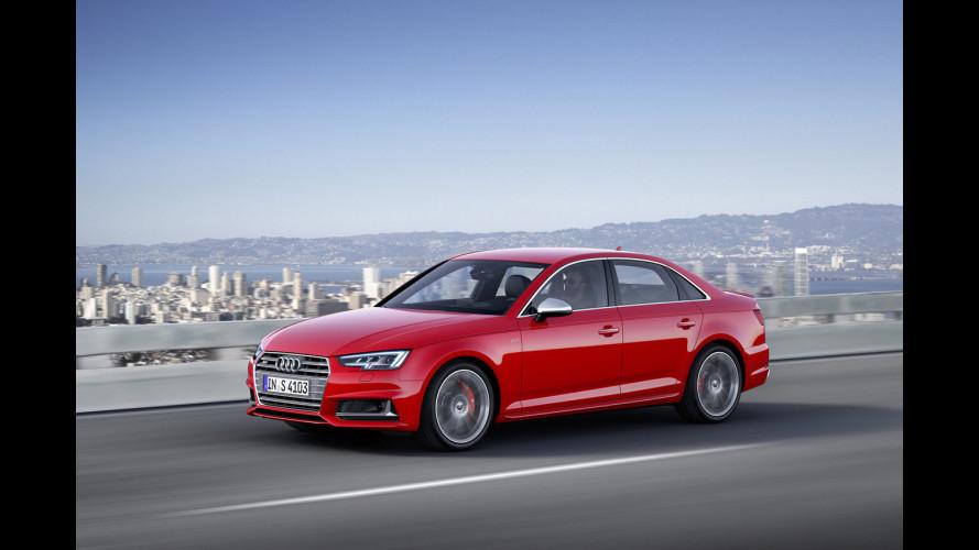 Nuova Audi S4, è sfida nel segmento D premium