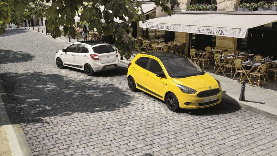 Ford lance la Ka+ Color Edition en Europe