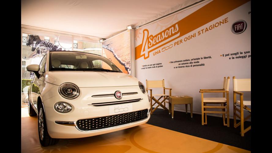 Fiat 500, cambi l'auto ogni stagione con 4 Seasons