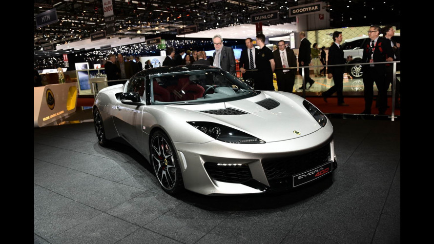 Lotus al Salone di Ginevra 2015