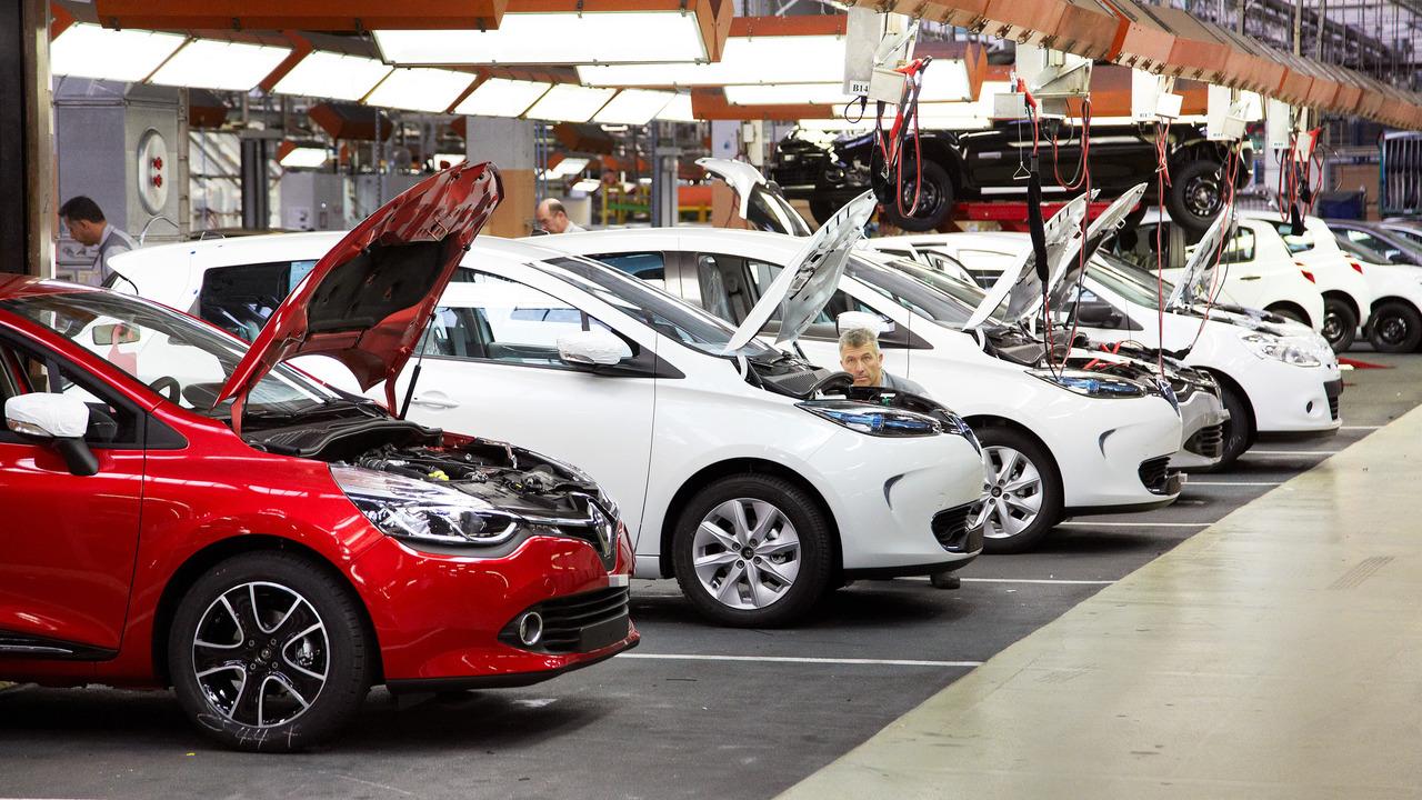 Production Renaultà Flins