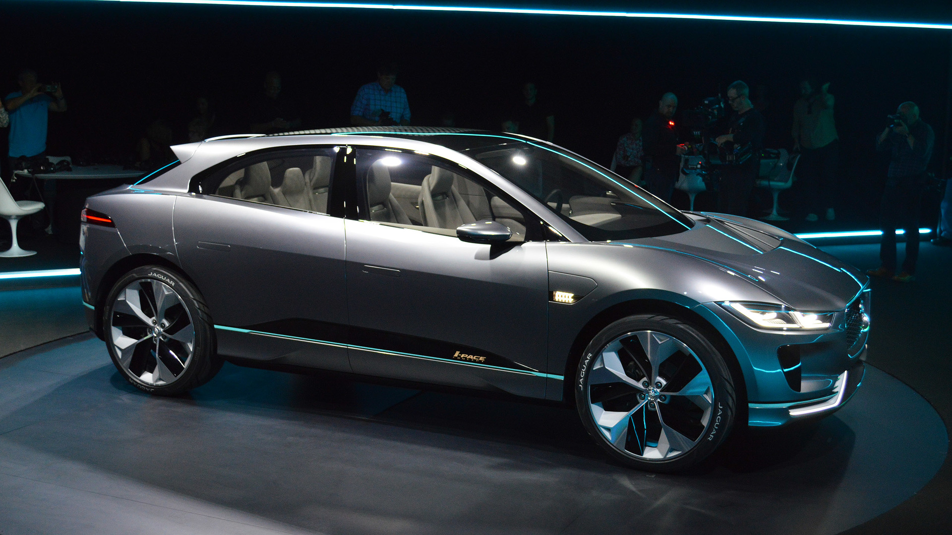 Jaguar I Pace Concept Takes Dead Aim At Tesla Model X