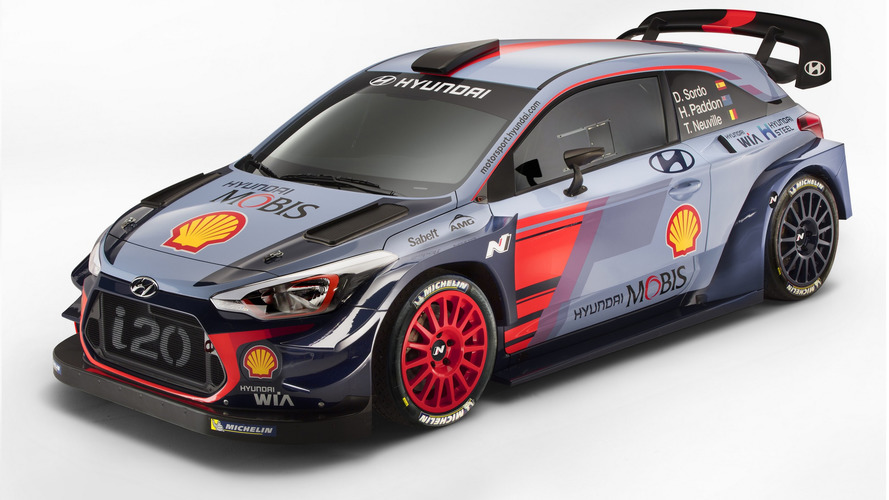2017 Hyundai i20 WRC ready to race