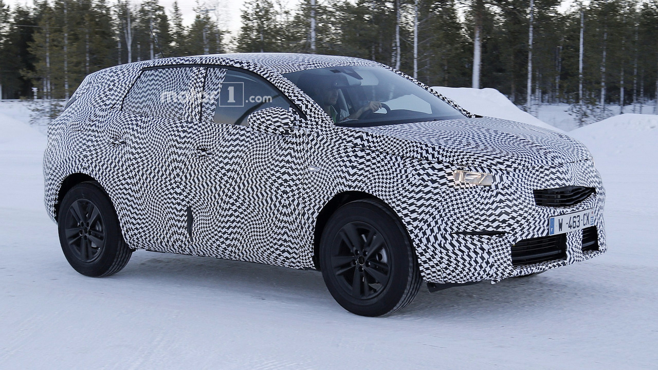 2017 Opel Grandland X casus fotoğrafı