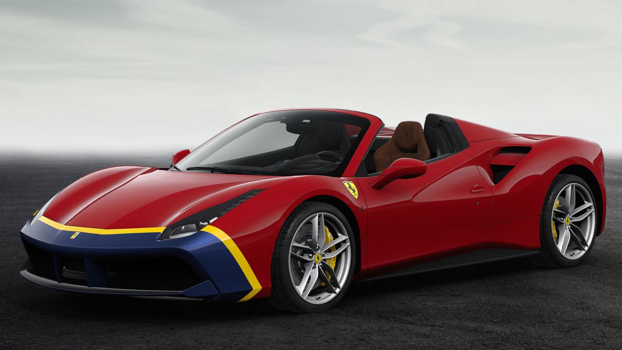Ferrari 70th Anniversary Livery Number #18