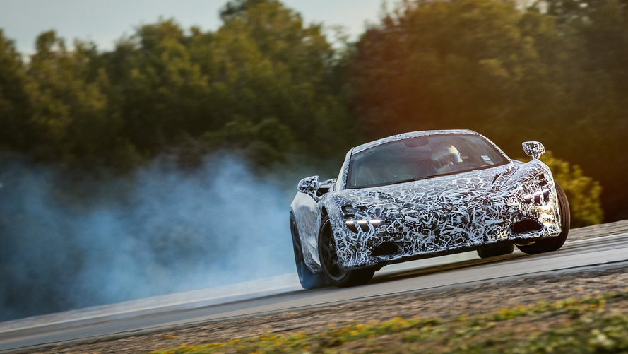 The McLaren P14 will have its own 'drift mode'