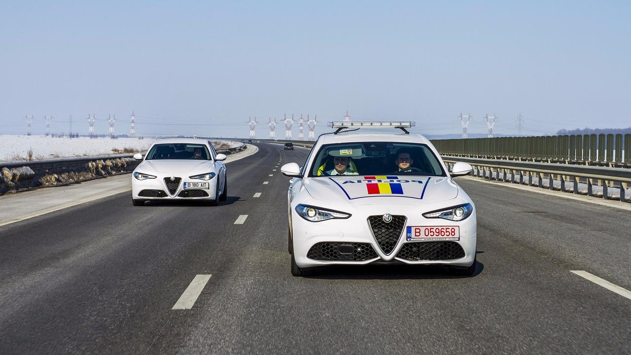 Giulia police roumaine