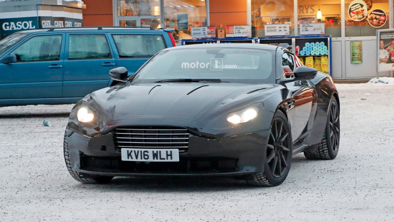 Aston Martin Vantage Photos espion
