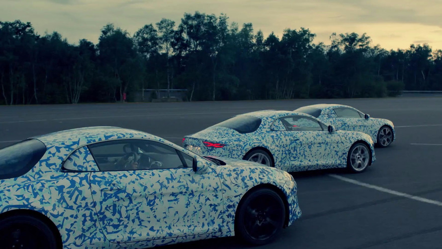 Alpine A120 teaser video